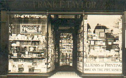Peter Taylor's great-grandfather's shop