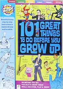 Peter Taylor's children's book '101 Great Things To Do Before You Grow Up', published by Hinkler Books in paperback