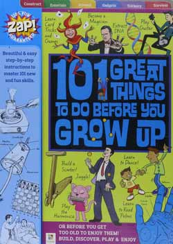 101 things to do for children aged 6-12 with sections written by author Peter Taylor