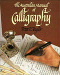 The cover of Peter Taylor's calligraphy book