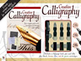 Creative Calligraphy includes a 48 page manual of how to write Italic, Gothic and Celtic calligraphy